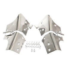 Jeep Wrangler TJ Windshield Hinges Pair Stainless  1997-2006 RT34066 Crown