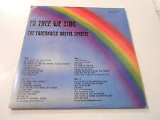 THE  TABERNACLE GOSPEL SINGERS  TO THEE WE SING  [WHITE  ]2 LPS VINYL M-,ABT M-