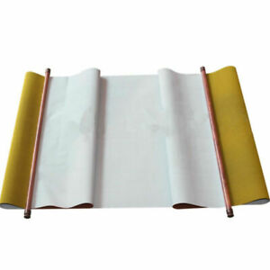 Cloth Paper Writing Painting Chinese Calligraphy Practice Scroll No Ink Water