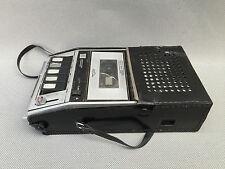 Ancien lecteur de cassettes portable LEOPHON déco vintage année 50/60