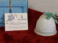 Lladro 1988 Christmas Bell #5525 in Original Box number 23