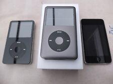 3x iPod Konvolut/lot : 80GB 5.5G - 160GB Classic IOB - 32GB touch
