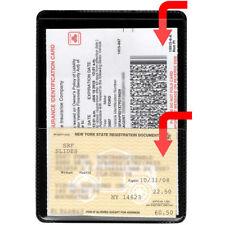 StoreSMART Black Plastic Insurance & ID Card Holder 10 Pack - RFS20-BK10