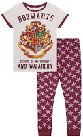 Universal Studios Harry Potter Hogwarts Long Ladies Pyjamas Pjs