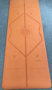 Liforme Travel Yoga Mat Orange