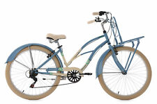 "Beachcruiser 26"" Kahuna Bleu 6 Vitesses TC 40 cm Cruiser KS Cycling 768B"