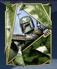 Topps Star Wars Card Trader Digital Gilded Gold Fractured ROTJ Boba Fett Gold