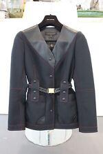 565c19df7c9 Louis Vuitton Coat With Leather Trim (CA36929) Size 38