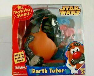2004-Playskool-Star Wars-Mr. Potato Head-Darth Tater-Mix 'n Match Fun-2+-NEW