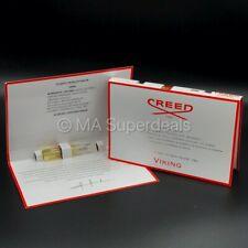 CREED Viking Man EPD Spray - Set of 2 Sample Vials - 0.05 oz/1.5 ml New On Card