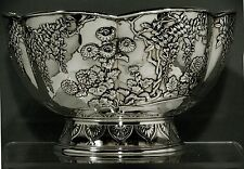 Japanese Sterling Bowl     SIGNED SHIGEMITSO                           40 OUNCES