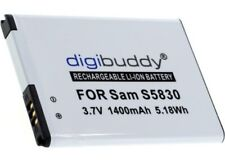 Original digibuddy Akku für Samsung Galaxy Gio S5660 Accu Handy Batterie