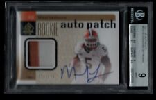 MIKEL LESHOURE /699 BGS 9 ILLINOIS ROOKIE AUTO JERSEY PATCH RC 2011 SP AUTHENTIC