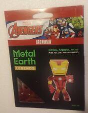 Marvel Advengers IronMan Metal Earth Legends 3D Steel Laser Cut Model Kit