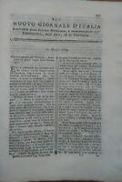 1784 NUOVO GIORNALE D'ITALIA: COLTIVAZIONE DEL TRIFOGLIO CONSERVAZIONE DEL GRANO