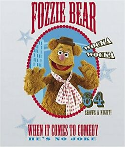 The Muppets Fozzie Bear Peel And Stick Giant Wall Decal - (RoomMates) RMK1810GM