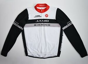 Castelli Jamo Sikring Jacket Cycling Bicycle Jersey Bike Ride Long Sleeve Men's
