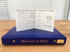 Coffret Belle épreuve, France, 2000, 8 pieces  2€ Arbre