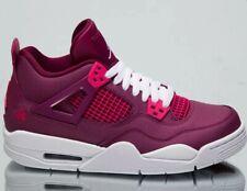 Air Jordan 4 Retro GS New True Berry Shoes 487724-661 UK 4