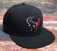 New Era 59 Fifty NFL Huston Texans Hat Cap Fitted 7 3/4 Navy