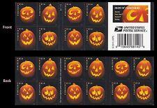 US 5140b Halloween Jack-O'-Lanterns forever booklet 20 MNH 2016