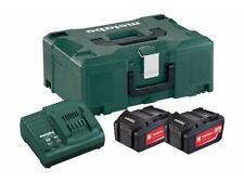 Baterías y cargadores Metabo 18V para herramientas eléctricas de bricolaje