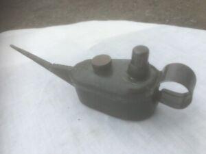 Vintage Small Pump Oil Can-Use Berkels Oil-Brass Cap-Automobilia,Garage Tools.