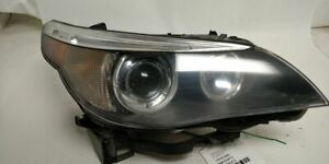Passenger Headlight With Xenon HID 63127160158 Fits 2005 2006 2007 Bmw 530i OEM