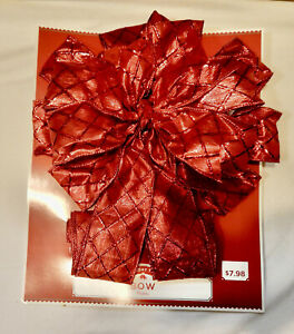 """Bows Christmas Holiday Time Many Types & Sizes You Choose  3"""" to 28"""" NIB 207S"""