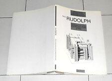 PAUL RUDOLPH La scuola d'arte e d'architettura a Yale Jaca Book 1 ed 1994