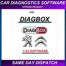 Diagbox 7.83 software for Citroen Peugeot Lexia 3