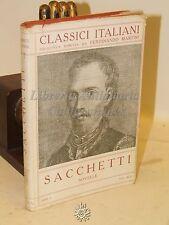 CLASSICI ITALIANI VOL. XLVI - Sacchetti: NOVELLE Vol.2 - Disegni di Cambellotti