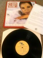 CANDI STATON - GLORIFY LP + PROMO PRESS RELEASE EX (+) !! UK BLUE MOON SING SONG