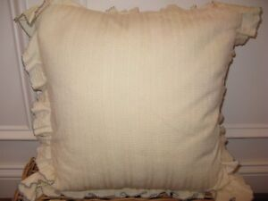 Ralph Lauren English Isles Knit Lace Deco Pillow New