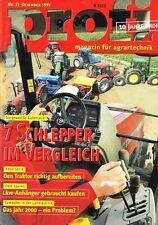 John Deere 8010 / Agrotron 120/Case IH CVX- Test/ Bericht, orig. profi Mag.  '99