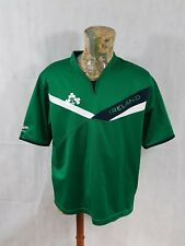 Ireland Rugby Top Mens XL Ct Pro 80 100% Polyester Green <A1>