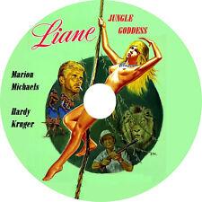 Liane Jungle Goddess (1956 Cult Jungle Adventure Film) DVD