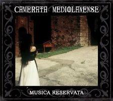 Camerata Medialanense - Musica Reservata 2CD 2013 reissue neoclassical folk