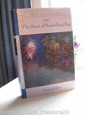 ~*~The Start of Something Big~*~Tales Grace Chapel Inn- HC Book by Sunni Jeffers