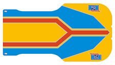 Fa Alonso Style Sol Plateau Autocollant-Karting-Otk - 2011/2012 - jakedesigns