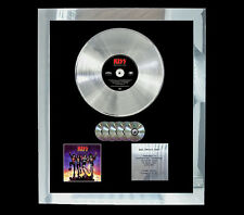 KISS DESTROYER   MULTI (GOLD) CD PLATINUM DISC FREE POSTAGE!!