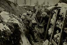 """British Army Soldiers Filling Sand Bags in Trench World War 1 6x4"""" Reprint Photo"""