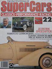 SUPERCARS magazine Issue 22 Featuring Auburn Speedster, Ferruccio Lamborghini