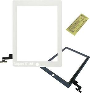 NEW WHITE PREMIUM QUALITY IPAD 2 REPLACEMENT TOUCH SCREEN LCD DIGITIZER DISPLAY