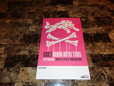The Cult Rare Born Into This Promo Poster 2007 Ian Astbury Billy Duffy Authentic