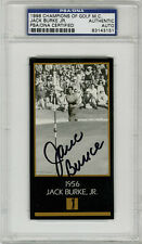 Jack Burke SIGNED Champions Of Golf Masters PSA/DNA AUTOGRAPHED