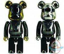Daft Punk Super Alloyed 200% Bearbrick 2 Pack Alloy by Medicom