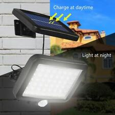 Solar Powered PIR Motion Sensor Outdoor Garden Light Security Flood Lamp 56 LED