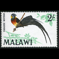 MALAWI 1968 2s Paradise Whydah. Bird. SG 318. Mint Never Hinged. (CA72M)