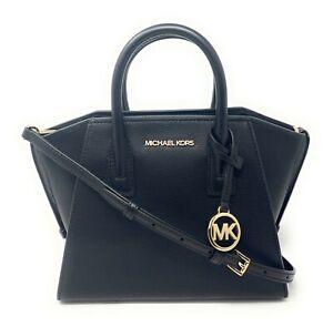 Michael Kors Avril Small Top Zip Satchel Crossbody Handbag $398